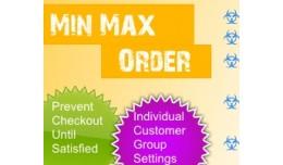 Min / Max Order Limits - Per Customer Group (1.5..