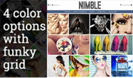 Nimble Homepage Grid Theme