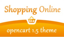 Shopping Online Gold Opencart 1.5 Theme