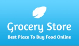 Grocery Store OpenCart Theme in Blue Color