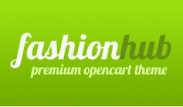 Fashion Hub Opencart Premium Theme in Green Color