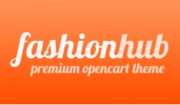 Fashion Hub Opencart Premium Theme in Orange Color