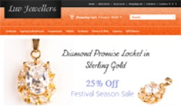 Luv Jewellers Opencart Theme in Orange Color