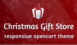 Christmas Gift Shop OpenCart Theme