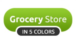 Grocery Store OpenCart Theme In 5 Colors
