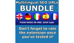 [VQMOD] Multilingual SEO URL Bundle Package