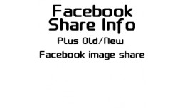 Facebook Share Info + Old/New Image Share Size