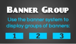 Banner Group - Display your banners in a row