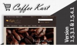 Coffee Kart Opencart Template
