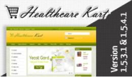 Healthcare Kart Opencart Template
