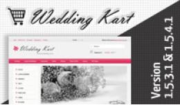 Wedding Kart Opencart Template