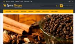 Spice Shoppe Opencart Template