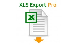Export Customers and Order data to Excel XLS/CSV