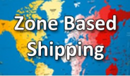 Zone Based Shipping (Free, Flat Fee or Percentage)