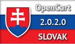 SLOVAK LANGUAGE / SLOVENČINA / OPENCART 2.0.2.0
