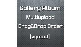 [vqmod] Gallery Album Multiupload - Drag&Dro..