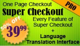 One Page Super Checkout Pro LANGUAGE TRANSLATION..