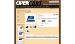 Stylish Brown Opencart Theme