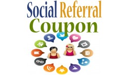 Social Referral Coupon / Discount