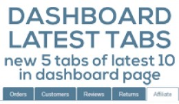 Dashboard Latest Tabs (vqmod)