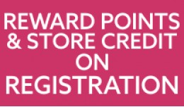 Reward Points and Store Credit on Registration (..