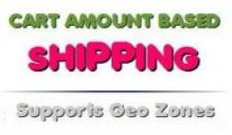 Cart Total / Order Amount Based Shipping