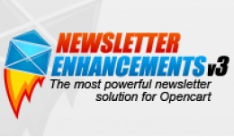 Newsletter Enhancements - V3 - vQmod + Free Mega..