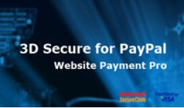 3D Secure for PayPal Website Payment Pro