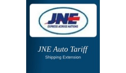 JNE (Indonesian Shipping) Auto Tariff for Openca..