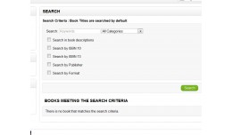 BookStore Search ISBN and Other Fields