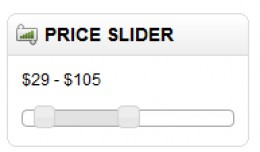 Price Slider - Price Filter for product