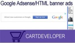 Google Adsense/HTML banner ads Opencart