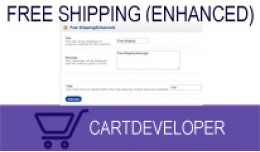 Free Shipping (Enhanced) for Opencart