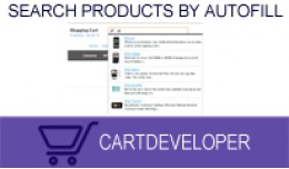 Search Products by Autofill [plus] for Opencart