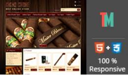Cigar Store OpenCart Templ..