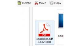 PDF File Uploader