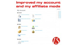 Improved my account & my affiliate mod for v..
