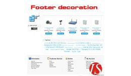 Footer decoration 1.5.x.x