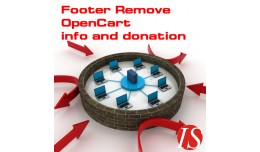 Footer Remove OpenCart info and donation (vQmod)