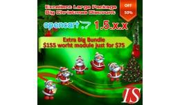 Christmas Opencart Extra Big Module Bundle 1.5.x.x