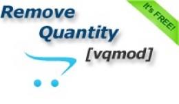 Remove Quantity