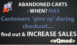 Abandoned Carts When? MAX