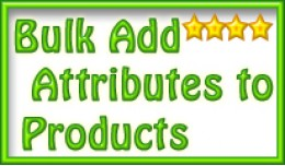 (vQmod) Bulk Add Attributes To Products