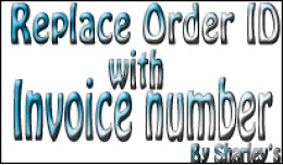 Replace Order ID with Invoice Number