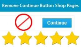 Remove the continue button From Information Page..
