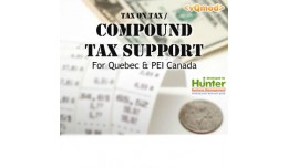 Compound Tax Support / Tax on Taxes For Quebec &..