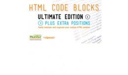 HTML Code Blocks Ultimate Edition + Extra Positi..