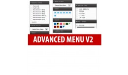 Advanced Menu Layered Category/Attribute/Options..