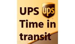 OpenCart UPS Time In Transit Addon v1.0