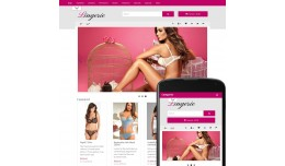OpenCart 2 Theme Forest Lingerie Rose